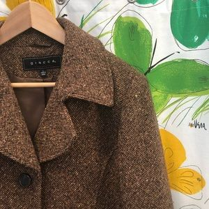 Giacca Tweed  Overcoat